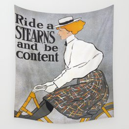Bicycle Advertise Wall Tapestry