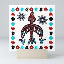 The Raven -Tlingit inspired Mini Art Print