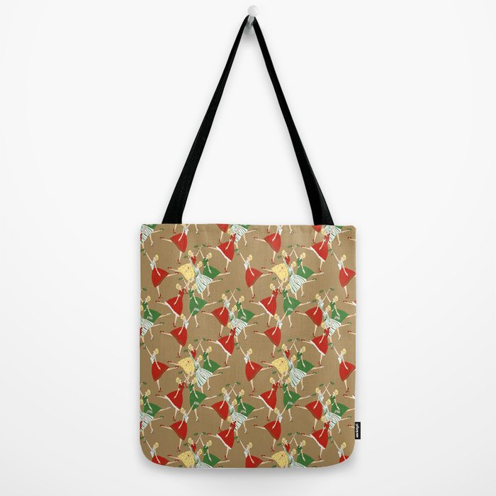 Vintage girls Tote Bag
