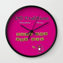 Anagram Wall Clock