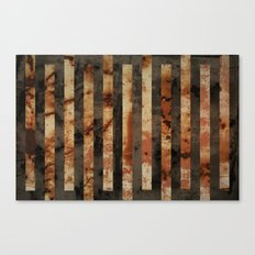 Rusty barrel abstraction Canvas Print