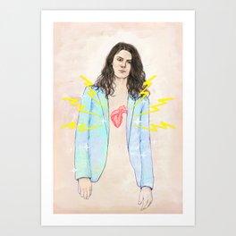 Electric Love Art Print