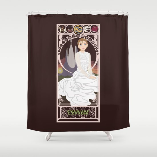 Childlike Empress Nouveau - Neverending Story Shower Curtain