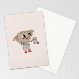 Dobby Stationery Cards