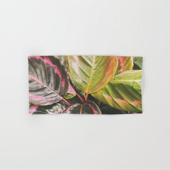 Leafy Hand & Bath Towel