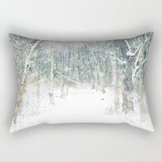 Magic Snow Rectangular Pillow