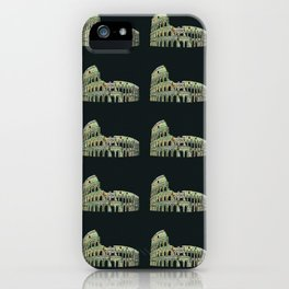 Colosseum Collage iPhone Case