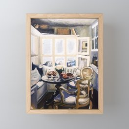 A Nook (Breakfast Only) Framed Mini Art Print