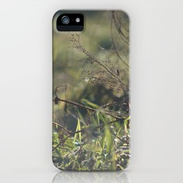 Light on Grass iPhone Case