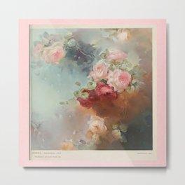 Roses in your Dreams Metal Print