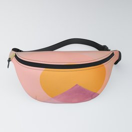 Sun in the mountains Fanny Pack