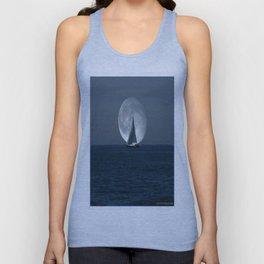 Full Moon Sailing Unisex Tank Top