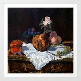 Edouard Manet The Brioche Art Print