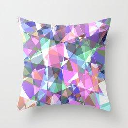 Lazer Diamond Throw Pillow