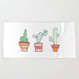 Cactus 2 Beach Towel