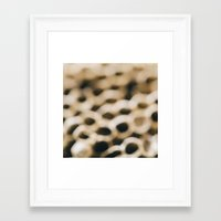 honeycomb Framed Art Prints featuring Honeycomb by Laura Ruth