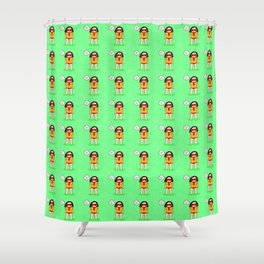 I'm my own boss Shower Curtain