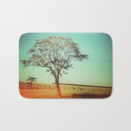 Light Tree Bath Mat