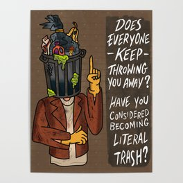 Trash Man Poster