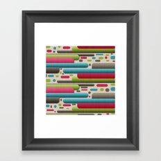 The New Retrolution. Framed Art Print