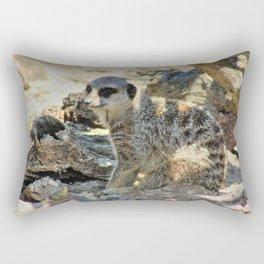 Sitting in the Shade Rectangular Pillow
