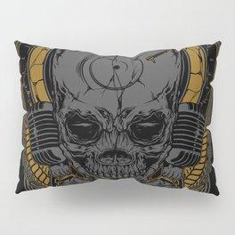 Metal Disc Jockey Pillow Sham