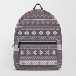 Christmas Jumper Pattern Backpack