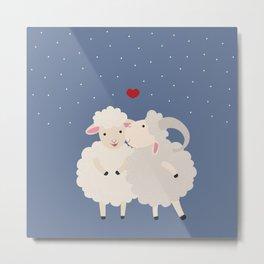 Sheep Series [SS 01] Metal Print
