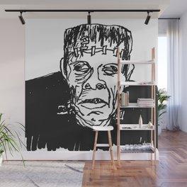 Frankenstein's Monster Wall Mural