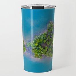 Turquoise Waters with Island Travel Mug
