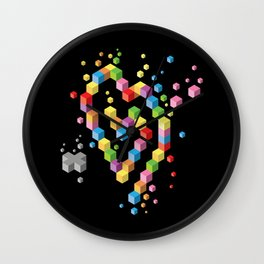 Geek Heart Wall Clock