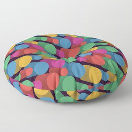 3D X Pipes II Floor Pillow