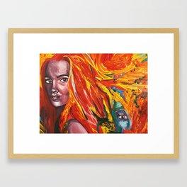 Mischievous vengeance  Framed Art Print