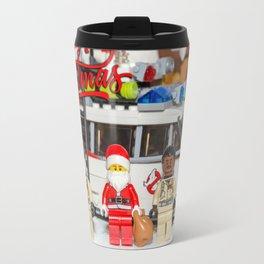 Santa and the Ghostbusters Travel Mug