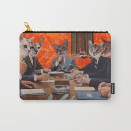Cats have an agenda Carry-All Pouch