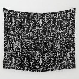 Viking Pattern | Warrior Valknut Norse Mythology Wall Tapestry