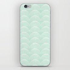 Geometric Umbrellas by Friztin iPhone Skin