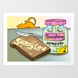 Spread the Sunshine Art Print