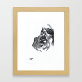 NaNoDrawMo 2010 - 10 Framed Art Print
