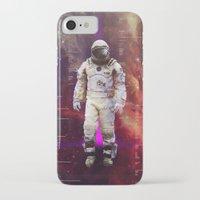 interstellar iPhone & iPod Cases featuring Interstellar by Tony Vazquez