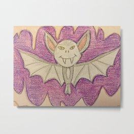 Bat in a cave Metal Print