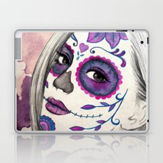 Sugar Skull Girl Laptop & iPad Skin