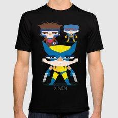 X Men fan art Black SMALL Mens Fitted Tee