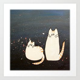 Kitty Brothers Art Print
