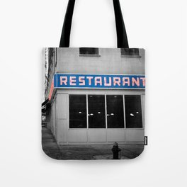 Toms Diner NYC Tote Bag