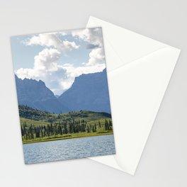 First Lake & Mount Blackburn, Donoho Basin Stationery Cards