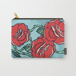 Growing Roses Carry-All Pouch