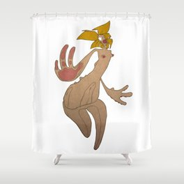CORNFLAKE Shower Curtain
