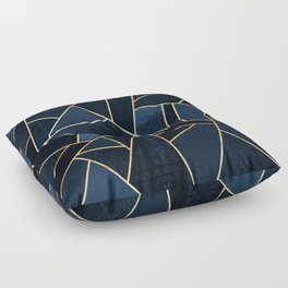 Navy Stone Floor Pillow