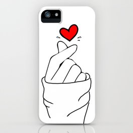 LOVE HAND iPhone Case